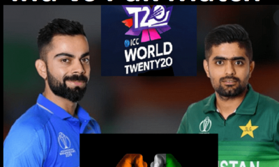 Watch India vs Pakistan free T-20 world cup Live Cricket Streaming